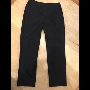 Express size 2 black pants columnist trouser ankle